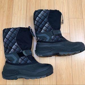 KAMIK winter snow boots, boys men's 7.